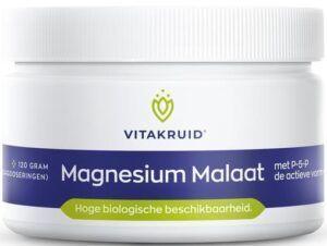 Magnesium Malaat met P-5-P 120 gram Vitakruid