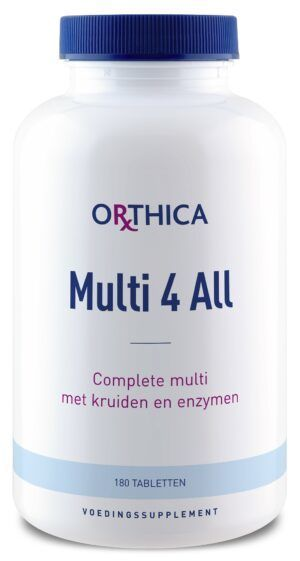 Multi 4 All 180 tabletten Orthica