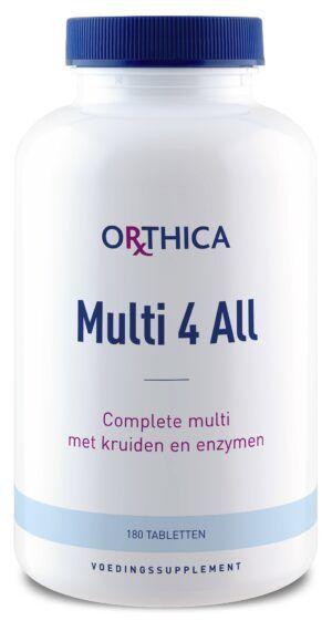 Multi 4 All 180 tabletten Orthica