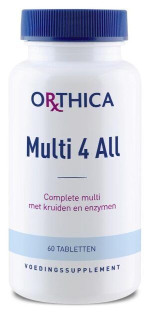Multi 4 All 60 tabletten Orthica