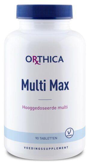 Multi Max Hoog gedoseerde Multi 90 tabletten Orthica