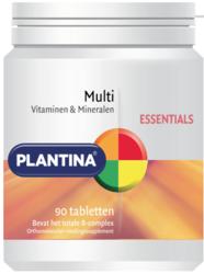 Multi Vitaminen en Mineralen 90 tabletten - Plantina