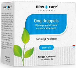 Oog Druppels 15 ampullen - New Care