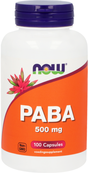 PABA 500 mg 100 capsules - Now