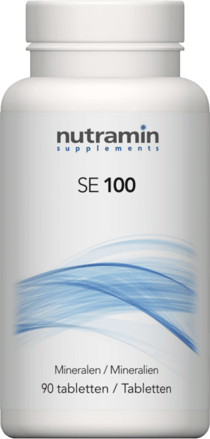 SE 100 Mineralen 90 tabletten Nutramin