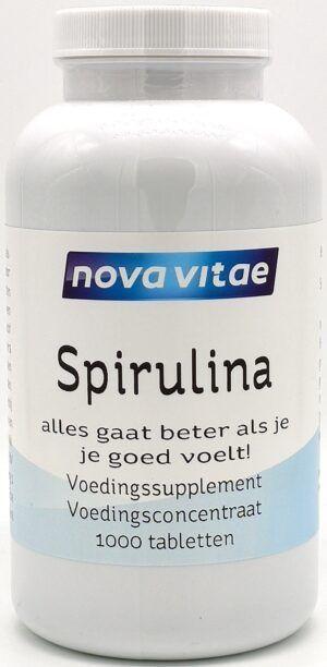 Spirulina Puur 1000 tabletten Nova Vitae