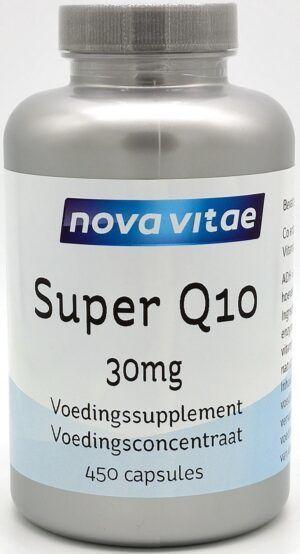 Super Q10 30 mg 450 capsules Nova Vitae