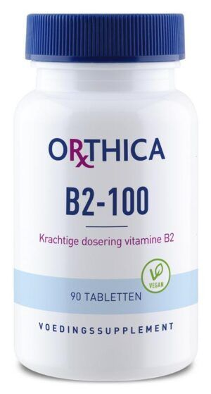 Vitamine B2 100 90 tabletten Orthica
