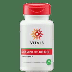 Vitamine K2 180 mcg 60 capsules Vitals