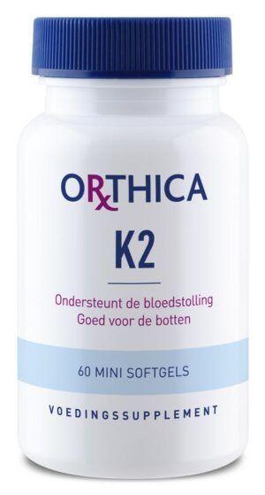 Vitamine K2 45 mcg 60 capsules Orthica