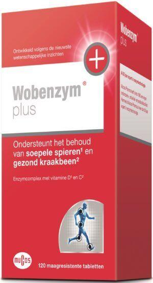 Wobenzym Plus 120 maagsapresistente tabletten