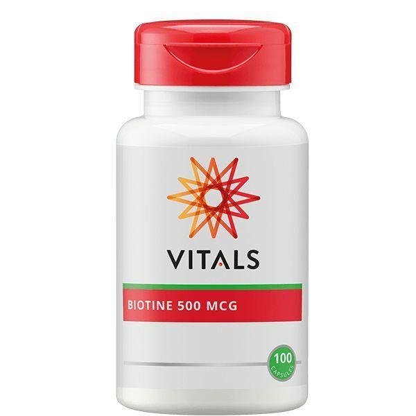 Biotine 500 mcg 100 capsules Vitals