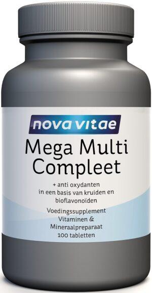 Mega Multi Compleet 100 tabletten - Nova Vitae