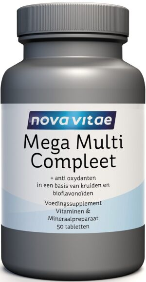 Mega Multi Compleet 50 tabletten - Nova Vitae
