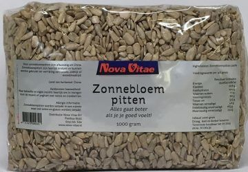 Zonnebloempitten 1000 gram Nova Vitae