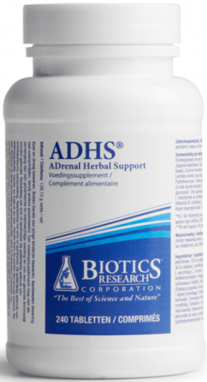 ADHS Adrenal Herbal Support 240 tabletten Biotics