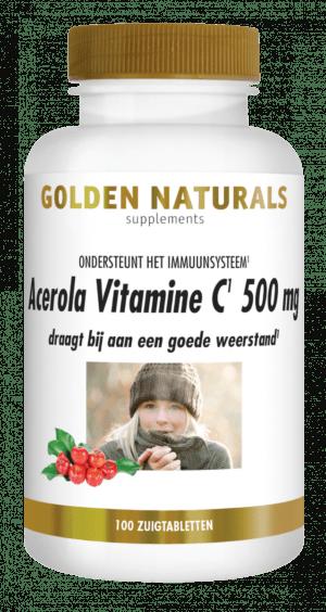 acerola vitamine C 500 mg