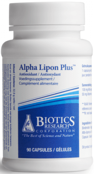 Alpha Lipon Plus 60 capsules Biotics
