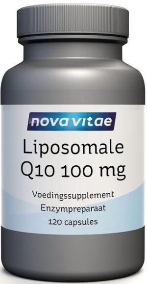 Liposomale Q10 100 mg 120 capsules Nova Vitae