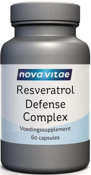Resveratrol Defense Complex 60 capsules Nova Vitae