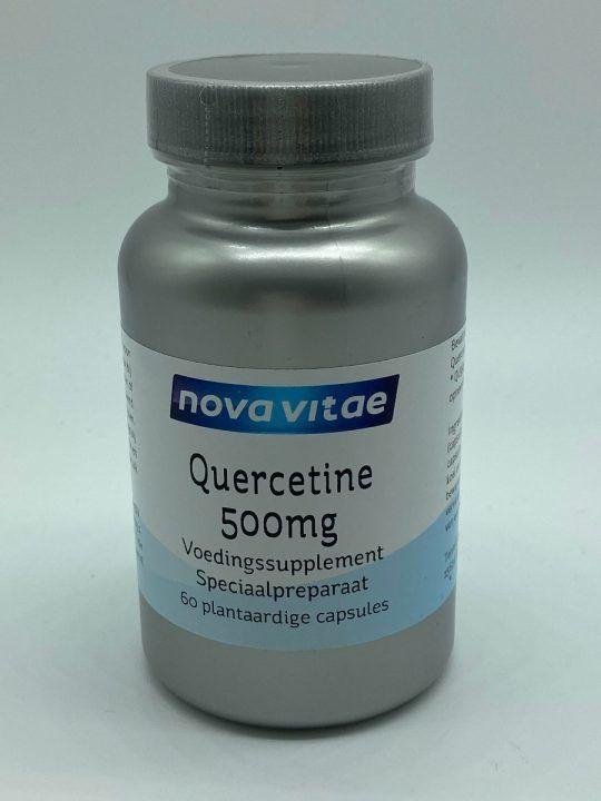 Quercetine 500 mg 60 capsules Nova Vitae