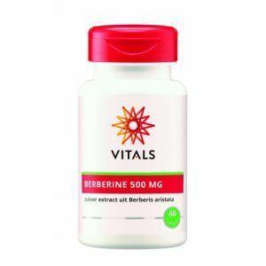 Berberine 500 mg 60 capsules Vitals