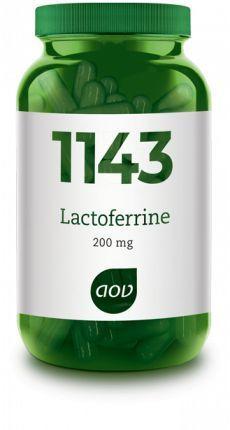 1143 Lactoferrine 200 mg 30 capsules AOV