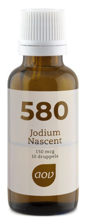 580 Jodium Nascent 150 mcg 15 ml AOV