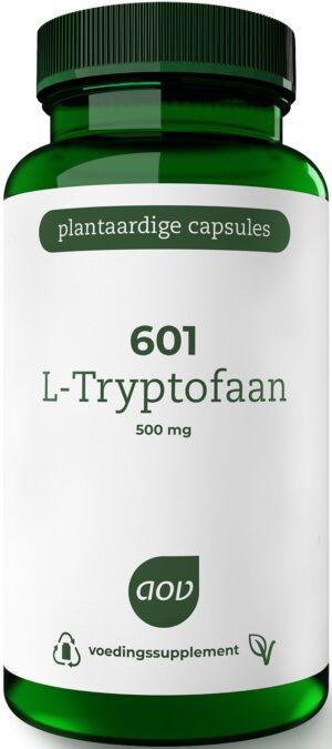601 L-Tryptofaan 500 mg 60 capsules - AOV