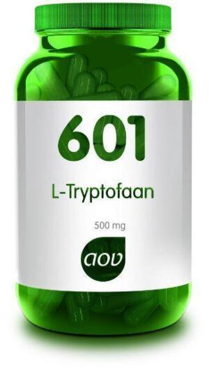 601 L-Tryptofaan 500 mg AOV