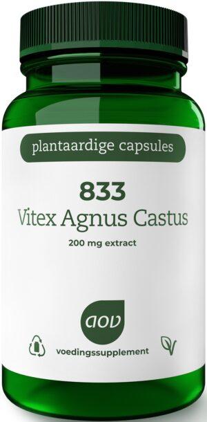 833 Vitex Agnus Castus 200 mg 60 capsules - AOV