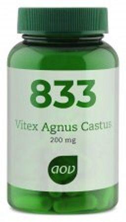 833 Vitex Agnus Castus 200 mg 60 capsules AOV