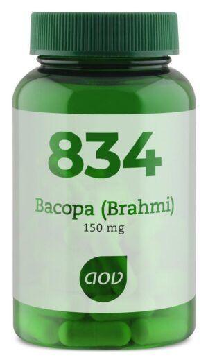 834 Bacopa (Brahmi) 150 mg 60 capsules AOV