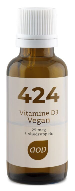424 Vitamine D3 Vegan 25 mcg 15 ml AOV