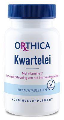 Kwartelei met Vitamine C 60 tabletten Orthica