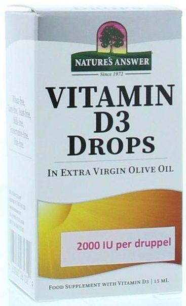 Vitamin D3 Drops 15 ml Natures Answer
