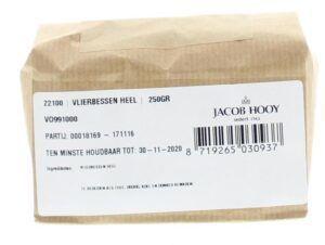 Vlierbessen Heel 250 gram Jacob Hooy