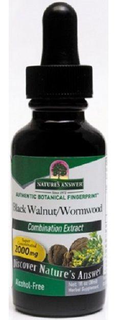 Zwarte walnoot en Artemisia extract 1:1 30 ml Natures Answer