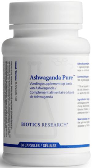 Ashwagandha Pure 60 capsules Biotics