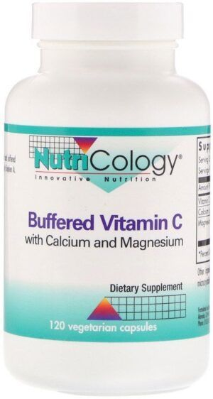 Buffered Vitamin C 120 capsules Nutricology