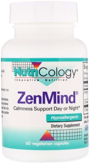 ZenMind Calmness Support 60 capsules Nutricology