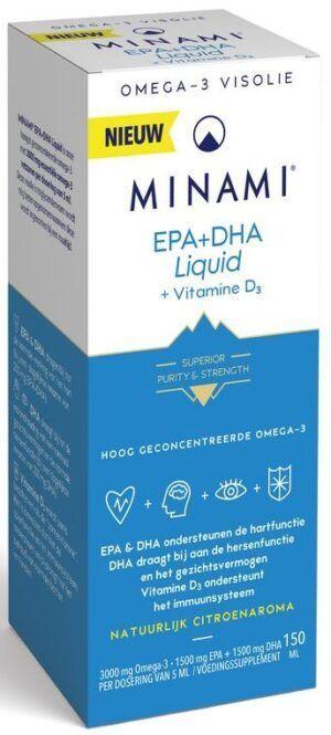 EPA en DHA liquid 150 ml Minami