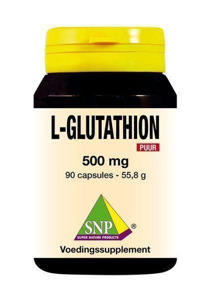 L-Glutathion 500 mg PUUR 90 capsules SNP