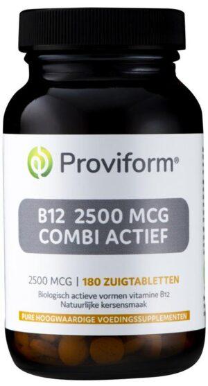 B12 2500 mcg Combi Actief 180 tabletten - Proviform