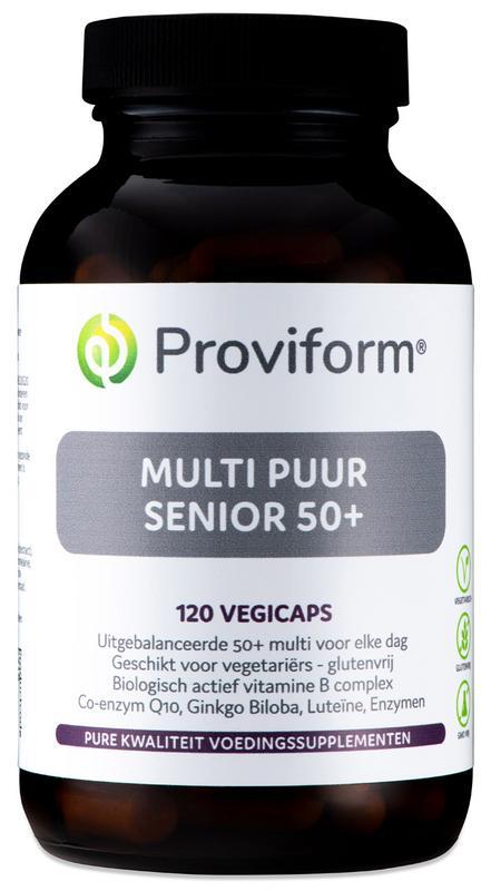 Multi Puur Senior 50 Plus 120 capsules - Proviform
