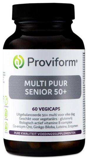 Multi Puur Senior 50 Plus 60 capsules - Proviform