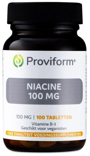 Niacine 100 mg 100 tabletten - Proviform