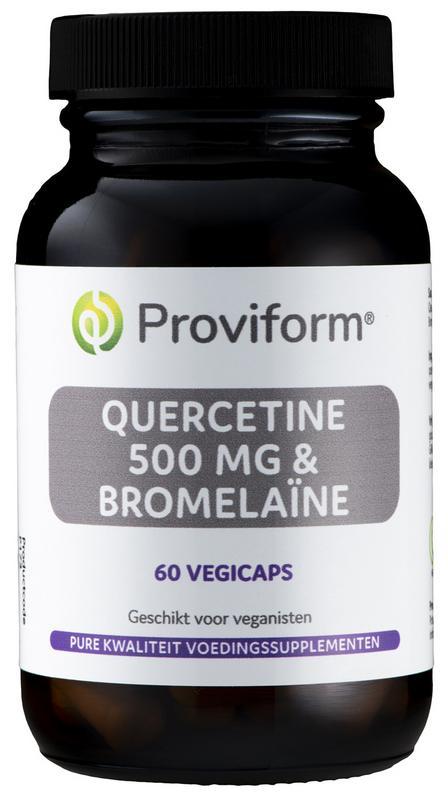 Quercetine 500 mg met Bromelaine 60 capsules - Proviform
