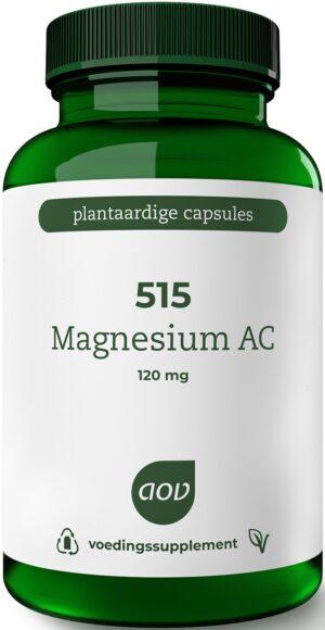 515 Magnesium AC 120 mg 120 capsules - AOV