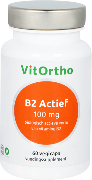 B2 Actief 100 mg 60 capsules - VitOrtho
